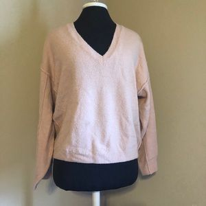ASOS pink fluffy sweater
